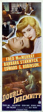 Double indemnity Barbara Stanwyck  movie poster print