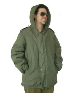 "Israeli army IDF Military Classic Jacket Cold Weather Parka Coat Zahal ""Dubon"""