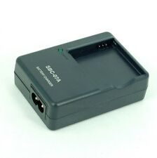 SBC-07A Battery Charger for SAMSUNG SLB-07A ST500 ST550 TL220 w/ US/EU plug cord