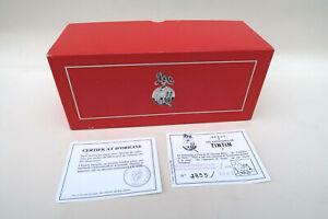 Boite d origine + Certificat Numeroté Pixi 4510 Tintin et Milou dans le Requin