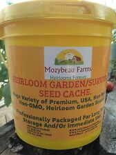 101 Different Varieties! Heirloom! Garden/Survival Seed Cache With $15 Herb Pack