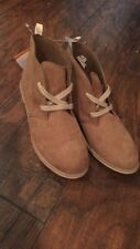 Sz 1 Gymboree Brown Suede Boots Shoes NWT