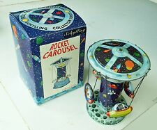 Schylling Tin Toy: Collector Series In Box - ROCKET CAROUSEL  180801001