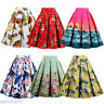 ZAFUL 1950s Circle Swing Dance Skirt Rockabilly Work Pin Up Retro Rock and Roll
