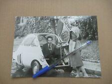BMW ISETTA MICROCAR Automobile Photo Presse Originale NO Brochure Prospekt