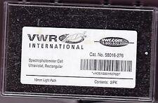 VWR 58016-276 Spectrophotometer cells