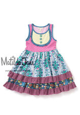 Girls Matilda Jane Make Believe Put On A Show Cookie Dress Size 6 NWT