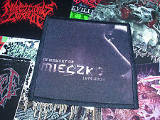 In Memory Of Mieszko 1974-2004 Patch Nasum Grindcore