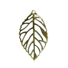 Leaf Charm/Pendant Tibetan Steampunk Antique Bronze 24mm  20 Charms Accessory