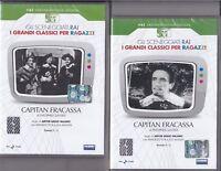 2 Dvd Sceneggiati Rai CAPITAN FRACASSA di A.G.Majano A.Foà Massari completa 1958