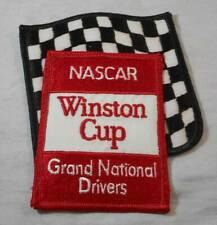 Vintage 1960s-70s NASCAR Winston Cup Grand National Drivers Patch NOS Unused