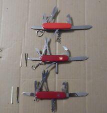 Estate Sale Found 3 pc Victorinox Swiss Army Knife Lot