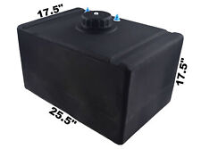 Racerdirect Marine 32 Gallon Poly Fuel Cell With Raised Plastic Cap # 8 Fittings