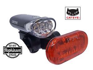 Cateye Bike Lights HL-EL135 / Omni3 Front / Rear / Set Bike Bicycle Cat eye