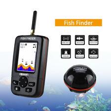 "2.8"" LCD Display Monitor 45M Fish Finder Wireless Remote Sonar Sensor Fishfinder"