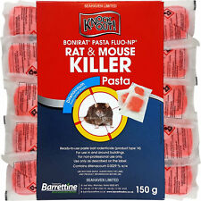 Knockout Rat & Mouse Pasta Poison Sachets for Control of Rodents - Difenacoum