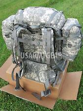 US Army MOLLE II ACU Rucksack Digital Back Pack Complete Set Very Good #12