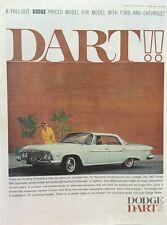 1961 Dodge Dart -  11x14 Vintage Advertisement Print Car Ad LG52