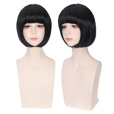 New Arrive Noragami black bobo MSN straight synthetic hair Cosplay Wig