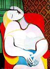 Pablo Picasso LE REVE THE DREAM canvas print giclee 8X12&12X17 art reproduction