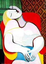 Pablo Picasso LE REVE THE DREAM canvas print giclee 8X12&12X17 art reproduction