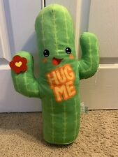 "Fiesta Hug Me Cactus 18"" Round 1 Plush Cinco De Mayo New with Tags"