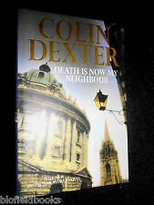 Death is Now My Neighbour by Colin Dexter (Hardback, 1996) Inspecror Morse/Crime