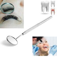 Miroir dentaire d'acier inoxydable pour vérifier les outils d'extension de cils.