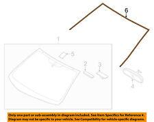 HYUNDAI OEM 11-16 Elantra Windshield-Reveal Molding 861313X000