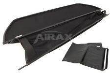 Airax Wind Deflector & Bag for Mercedes CLK W 208 Year Built 1997-2003 Black