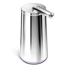 simplehuman Sensor Schaum Seifenspender 295 ml Edelstahl poliert Rostfrei Akku