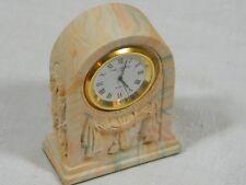 Aynsley  Desk Clock in Portland Stoneware design, a gorgeous and unique design.
