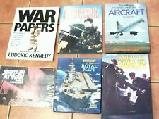 COLLECTION / JOB LOT 19 BOOKS WAR / ARMY / NAVY/ AIR FORCE