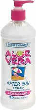 Fruit of the Earth Aloe Vera After Sun Lotion 20 oz