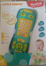 New Little Mimos Baby Toy Musical Remote Controller 18+ Months