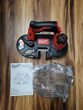 Milwaukee 2429 20 M12 Cordless Sub Compact Band Saw Bare Tool Only New