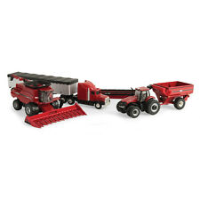 Case IH Harvesting Set 1/64 Scale TOMY Toy