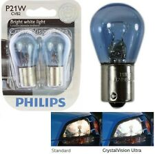 Philips Crystal Vision Ultra Light P21W 21W Two Bulbs Rear Turn Signal OE Lamp