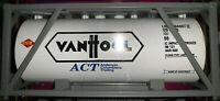 MTH VANOOL ISO TANK INTERMODAL CONTAINER NEW FITS K-LINE DOUBLE HUSKY TWIN STACK