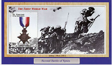 St Vincent & Grenadines 2002 MNH 1914-5 Star WWI WW1 Battle Ypres 1v S/S Stamps