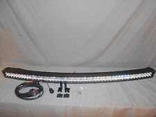 "Auxbeam 50"" 288W Curved Off Road LED Light Bar 5D Projector Lens (See Notes)"