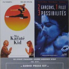Miss Karaté Kid 2 garçons 1 fille 3 possibilités CD Promo