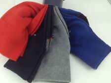 Men's TOMMY HILFIGER Red Blue Gray 26% COTTON Dress Socks - 4 Pack - $36 MSRP