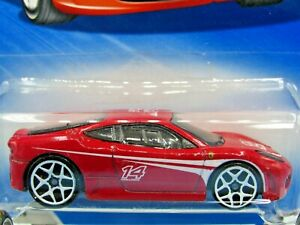 HOT WHEELS VHTF 2010 RACING SERIES FERRARI F430 CHALLENGE