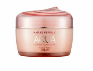 Nature Republic Super Aqua Max Moisture Watery Cream For Dry Skin