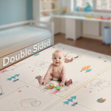 Cartoon Foldable Toddler Baby Crawling Mat Double-sided Indoor Outdoor Play Mat
