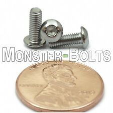 M3 x 8mm - Qty 20 - A2 Stainless Steel Button Head Socket Cap Screws - ISO 7380