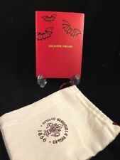 Giulio Giannini & Figlio Hand Made Leather Paper Dream Journal + bag