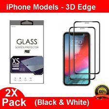 2X 3D Curved Full Cover Tempered Glass Screen Protector For iPhone 6 7 8 Plus X