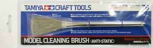 Tamiya 74078 Model Cleaning Brush (Anti-Static) Craft Tools Double-Ended Brush